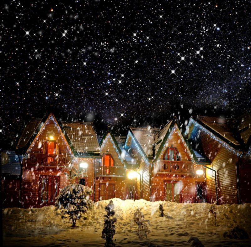 Jak oświetlić dom na święta