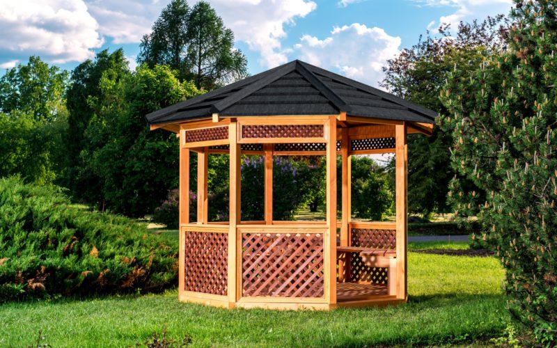 jak zbudować ogrodową altanę