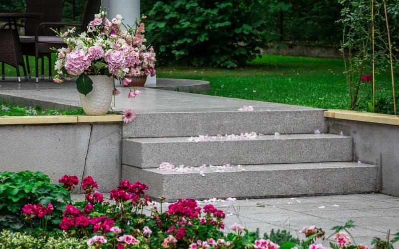 schody z betonu